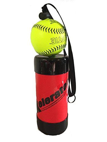 Xelerator 2nd Gen Softball Pitching Trainer w/Leather Ball – DiZiSports Store
