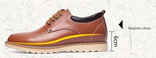Brown 39 EU 5 Uomo Seaoeey Stringate Scarpe Basse Marrone qYvwXFg