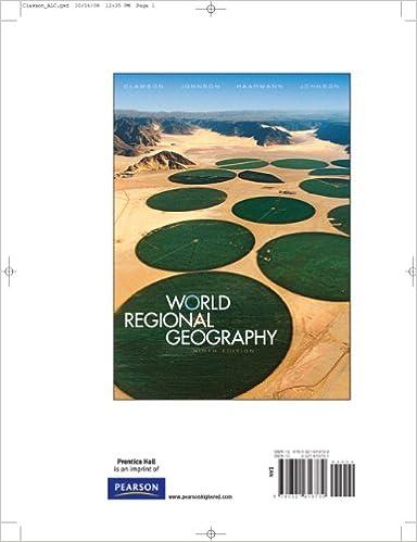 Fundamentals of world regional geography: joseph j. Hobbs.