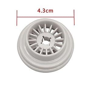 HONEYSEW 2pcs Spool Pin Cap (Large) For Singer 2000 4000 5000 6000 9000 Series by HONEYSEW