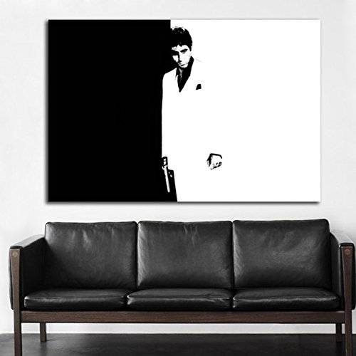 Poster Mural Scarface Mob Gangster 40x58 inch (100x147 cm) Adhesive Vinyl - Mail Internation
