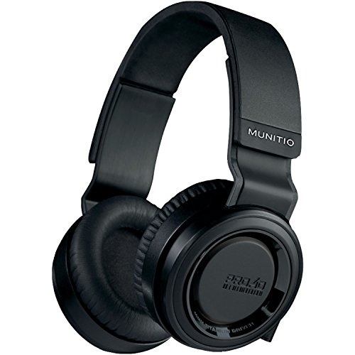 Munitio PRO40 High-Performance Headphones, Black
