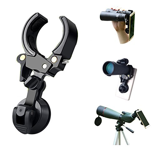 Cell Phone Telescope Adapter Mount with Wire Shutter | Telescope Eyepiece Adapter for Binocular Monocular Spotting Scope Microscope