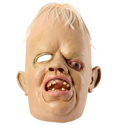 Cyclopia Bucktooth Latex Mask Horrible Mask Halloween Supply by Advanced]()