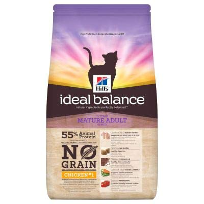 Hill's Ideal Balance Feline Mature No Grain Dry Cat...
