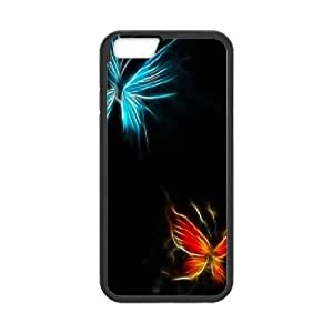 IPhone 6 Cases Butterfly Lighting, Case for Iphone 6 - [Black] Okaycosama