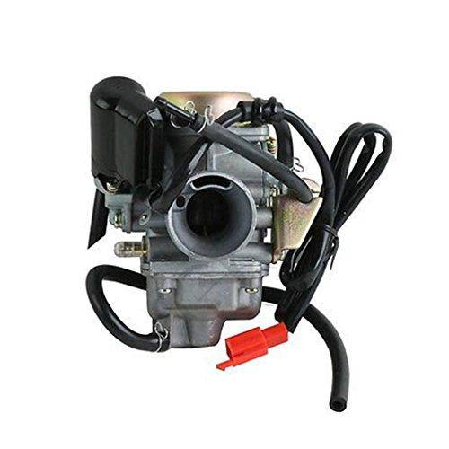 24mm carburador combustible Carb para GY6125cc, 150cc 4tiempos motor Scooters ATV