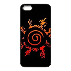 6 plus Case, iPhone 6 plus 6 plus Case - Fashion Style New Anime Naruto Painted Pattern pc hard hard Cover Case for iPhone 6 plus(Blackwhite)