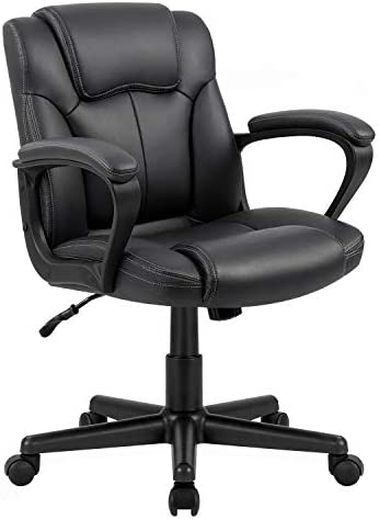 KOVALENTHOR Mid-Back Big and Tall Office Chair