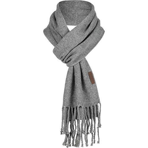 Pendleton Cashmere Scarf Soft Grey Heather, One Size by Pendleton