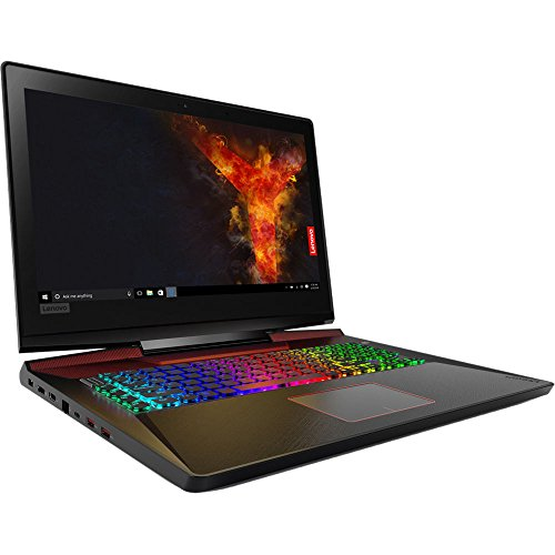 "Price comparison product image Lenovo Legion Y920 17.3"" Full HD Gaming Laptop - 7th Gen. Intel Core i7-7820HK Processor up to 3.90 GHz,  32GB Memory,  1TB SSD + 2TB Hard Drive,  8GB NVIDIA GeForce GTX 1070,  Windows 10"