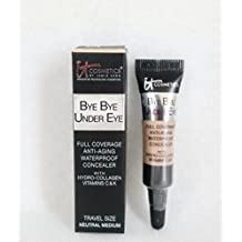 It Cosmetics It Bye Bye Under Eye Waterproof Concealer Neutral Meduim by Innovative Technology Cosmetics