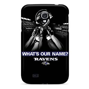 High Impact Dirt/shock Proof Cases Covers For Galaxy S4 (baltimore Ravens)