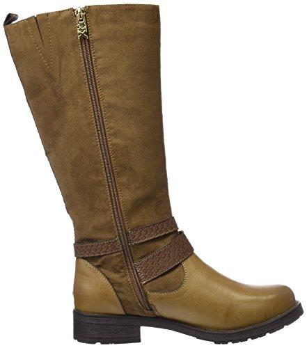 XTI 46185 -  Botas altas para mujer Beige (Taupe)