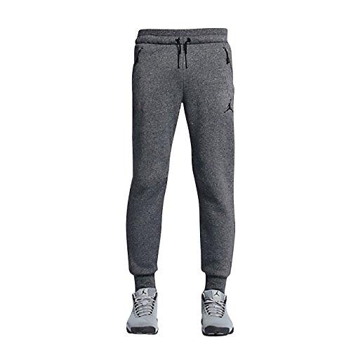 Jordan Icon Fleece Cuffed Sweatpants (M, Black/Black)