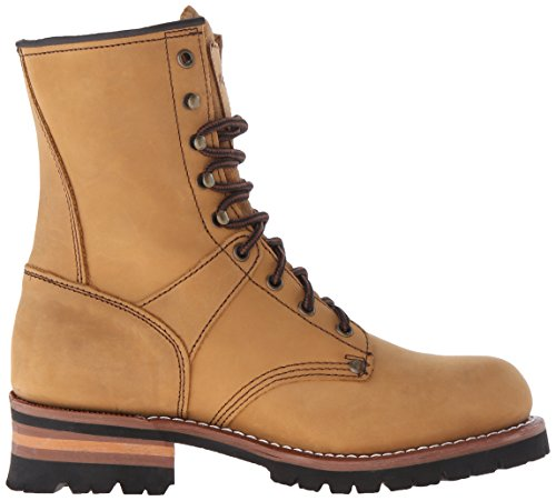 Adtec Hombres 9-inch Logger Bota Brown