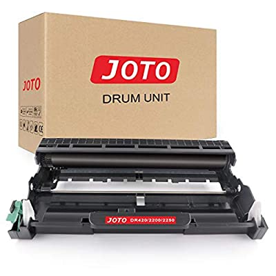 JOTO Compatible Drum Unit Replacement for Brother DR420 DR-420 DR 420 HL-2270DW HL-2280DW HL-2240 HL-2230 HL-2240D HL-2220 MFC-7360N MFC-7860DW DCP-7065DN DCP-7060D (Black, 1 Pack)