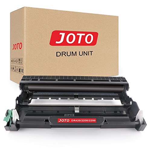 (JOTO Compatible Drum Unit Replacement for Brother DR420 DR-420 DR 420 HL-2270DW HL-2280DW HL-2240 HL-2230 HL-2240D HL-2220 MFC-7360N MFC-7860DW DCP-7065DN DCP-7060D (Black, 1 Pack, High Yield))