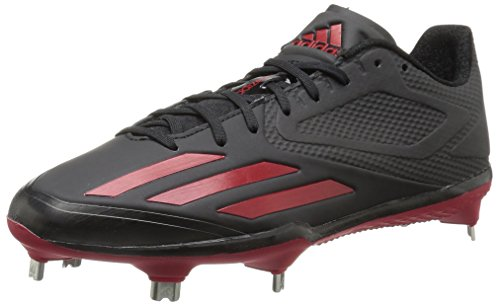 Adidas Originaler Mænds Freak X Kulstof Midten Baseball Sko Sort / Strøm Rød / Power Rød scQWz1