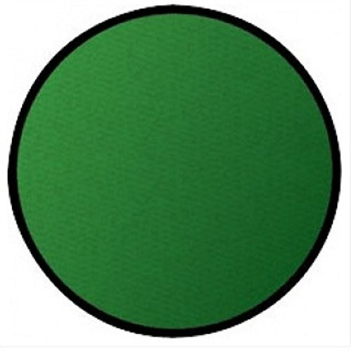 Learning Carpets CPR466 - Solid Green Round by Learning Carpets