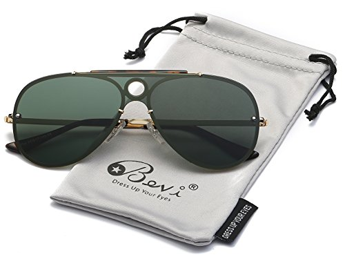 Bevi Polarized Metal Sunglasses - Hd Tv Sunglasses On As Aviator Seen
