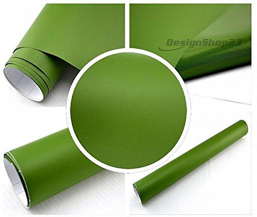 4/€//m/² Auto Folie matt nato olive gr/ün matt 2500 x 150 cm blasenfrei Car Wrapping Klebefolie Dekor Folie