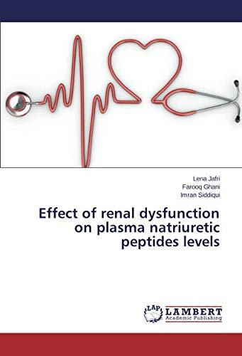 Effect of renal dysfunction on plasma natriuretic peptides levels