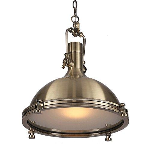 Vintage Industrial Nautical Style Pendant Light, MKLOT Minimalism Pendant Lamp 18.11
