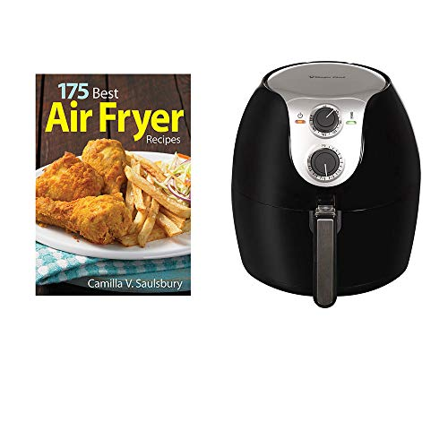 Magic Chef Oil Free 5.6 Quart Air Fryer Cooker w/Firefly Books Recipe Book
