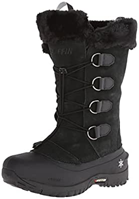 Amazon.com | Baffin Women's Kristi Insulated Suede Winter