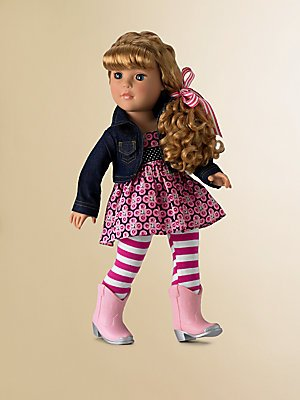 Madame Alexander 18 Too Cute In Boots Favorite Friends Collection by Alexander Dolls