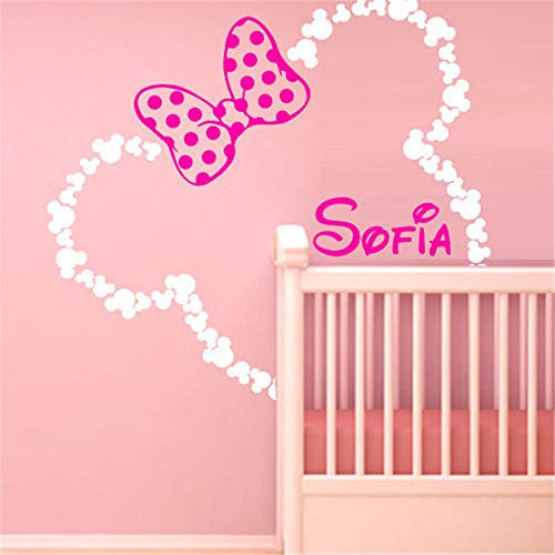 Mickey Minnie Mouse Wall Art Decal Sticker DIY