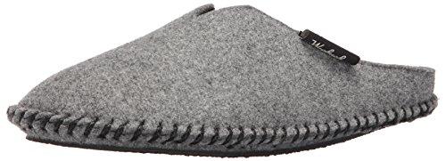 Woolrich Men's Classic Felt Mill Scuff Slipper,Steel Gray,12 US/XL(12-13) M US