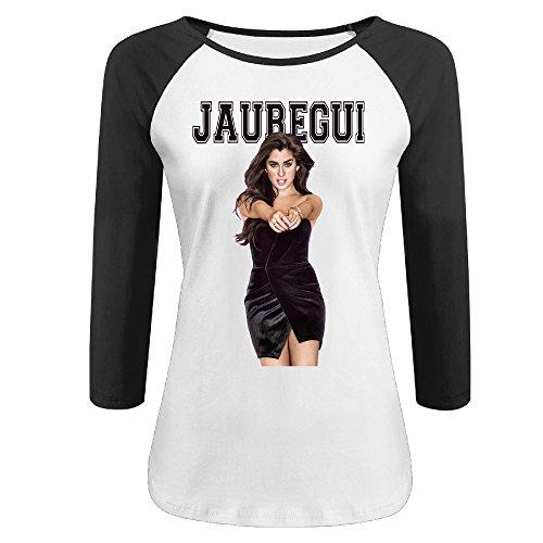 CALZ Girls Lauren Jauregui 3/4 Sleeve Short Sleeve Tshirts S Black
