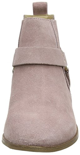 pink Atlas Women''s Ankle Office Suede Pink Boots A5XFSqw