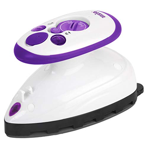 ANSIO Steam Iron - Mini Quilting Steam Iron with Ceramic Soleplate Perfect...