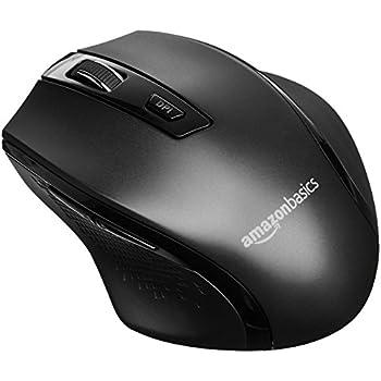 6cf8aeb5149 Amazon.com: AmazonBasics Wireless Computer Mouse with Nano Receiver ...