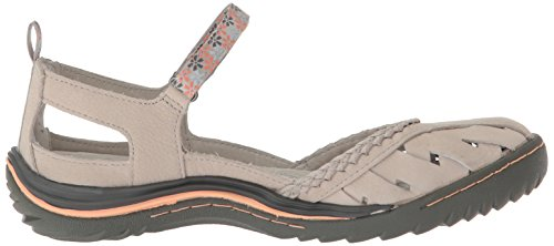 Grey Jambu Light Apple Jane Mary Blossom Women's Flat FxZBwF0q