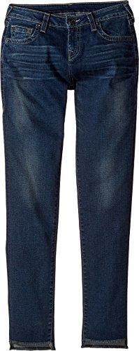 True Religion Kids Girl's Casey Skinny Jeans in Dark Moon (Big Kids) Dark Moon 10