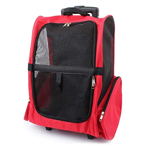HEYJIE Soft Pet Carrier Pet Supplies Cat Backpack Car Cat Bag Pet Backpack Small Cat Dog Pet Travel Out Portable Safe Three-Dimensional Breathable