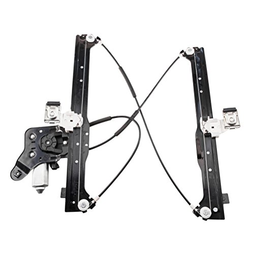 SUNROAD Power Window Regulator Motor Rear Left Driver Side for Chevrolet Suburban & Avalanche 1500/2500 & Silverado 1500/2500 HD Classic|GMC Yukon XL 1500/2500 & Sierra 3500|Cadillac Escalade ESV (Rear Windows)