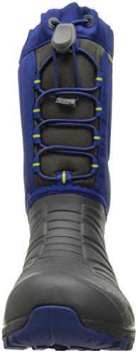 Merrell Sneeuw Zoektocht Lite Waterdicht Sneeuw Boot (klein Kind / Grote Jongen) Grijs / Kobalt
