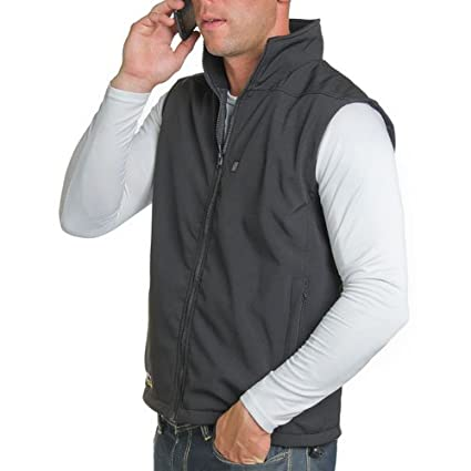 VentureHeat 9536 Small Men's City Collection Heated Soft Shell Vest 9536-S