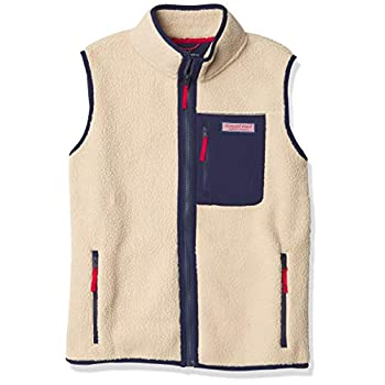 Winery Vines boys Sherpa Fleece Vest