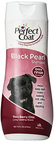 Perfect Coat Black Pearl Dog Shampoo, 16-Ounce (I640)