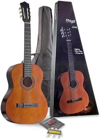 Stagg C546 PACK - Guitarra acústica con cuerdas metálicas: Amazon.es: Instrumentos musicales