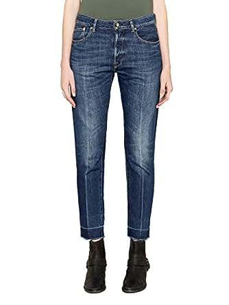 GOLDEN GOOSE Luxury Fashion Womens G34WP008A2 Blue Jeans   Season Permanent