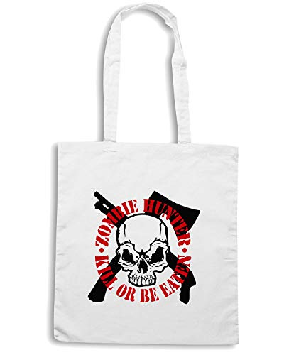 Speed Shirt Borsa Shopper Bianca TZOM0019 ZOMBIE