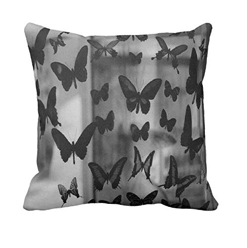 AoLian CYW Animal Wallpaper Butterfly Pillow Case 20 in