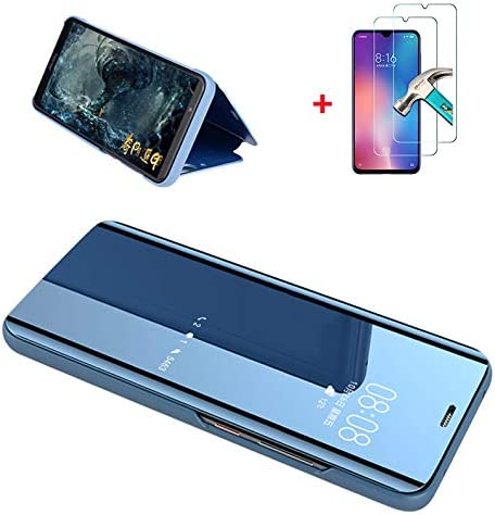 GoodcAcy Funda Compatible con Xiaomi Mi 9pro Clear View Cover ...